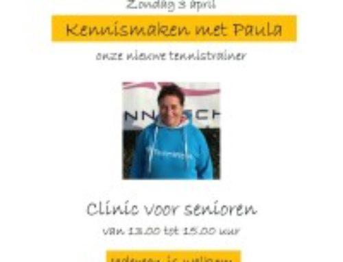 Maak kennis met Paula!