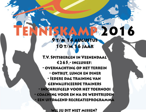Tenniskamp Tennisschool FIT